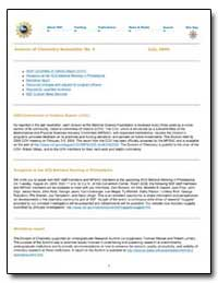Division of Chemistry Newsletter No. 5 by