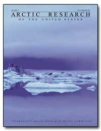 Arctic Research : Volume 17 Fall/Winter ... by