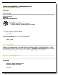Instructional Materials Development (Imd... by Bradley, John Spud