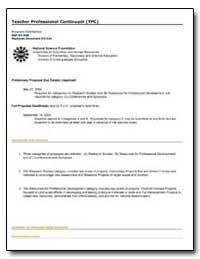 Teacher Professional Continuum (Tpc) by Sukow, Wayne W.