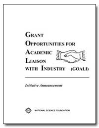 Grant Opportunities for Academic Liaison... by