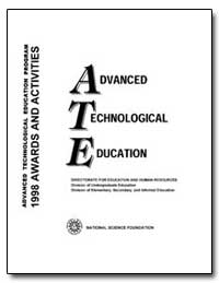 Advanced Technological Education (Ate) P... by Packer, Arnold H.