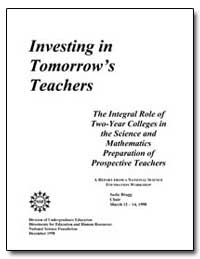 The Integral Role of Two-Year Colleges i... by Williams, Luther S., Dr.
