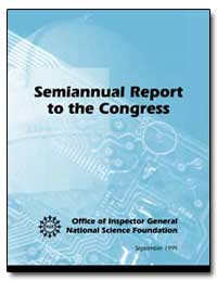 Semiannual Report to the Congress by Sunshine, Philip L.
