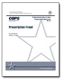 Prescription Fraud by Wartell, Julie