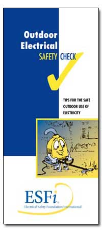 Outdoor Electrical Safety Check by