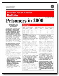 Bureau of Justice Statistics Bulletin by Beck, Allen J., Ph. D.