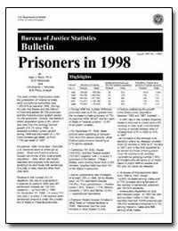 Prisoners in 1998 by Beck, Allen J., Ph. D.