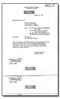 Pd/Nsc-18 U.S. National Strategy by Carter, Jimmy