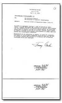 Section 1-1403 of Executive Order 12036 by Carter, Jimmy