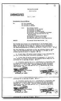 Micronesian Status Negotiations by Brzezinski, Zbigniew