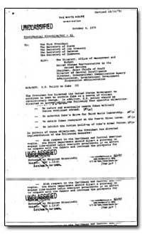 U.S. Policy to Cuba by Brzezinski, Zbigniew