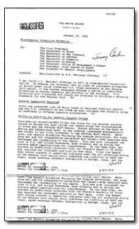 Modifications in U.S. National Strategy by Brzezinski, Zbigniew
