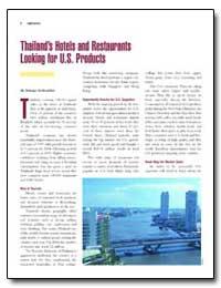 Thailand's Hotels and Restaurants Lookin... by Sirikeratikul, Sukanya
