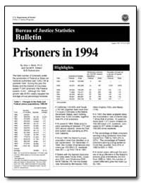 Prisoners in 1994 by Beck, Allen J., Ph. D.