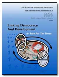 Linking Democracy and Development an Ide... by Lippman, Hal