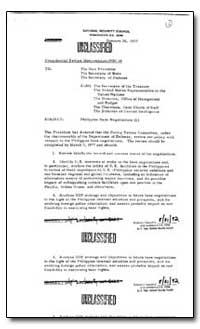 Philippine Base Negotiations by Brzezinski, Zbigniew