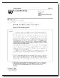 United Nations Register of Conventional ... by