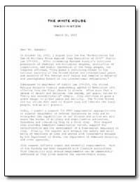 The White House Washington by Hastert, J. Dennis