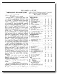 Department of State Administration of Fo... by