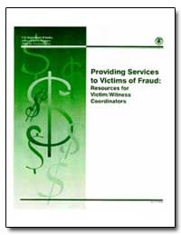 Providing Services to Victims of Fraud :... by Turman, Kathryn M.