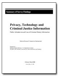 Privacy, Technology and Criminal Justice... by