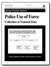 Police Use of Force Collection of Nation... by Greenfeld, Lawrence A.