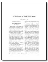In the Senate of the United States by Feinstein, Dianne