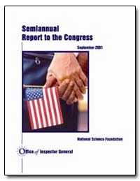 Semiannual Report to the Congress by Colwell, Rita R.