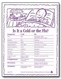 Is It a Cold or the Flu? by