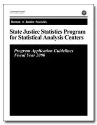 State Justice Statistics Program for Sta... by Chaiken, Jan M.