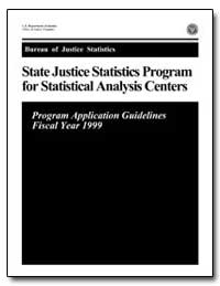 State Justice Statistics Program for Sta... by Chaiken, Jan M.