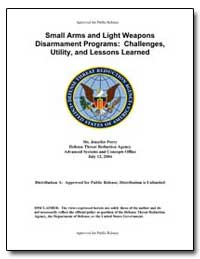 Approved for Public Release Small Arms a... by Perry, Jennifer