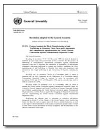 Resolution Adopted by the General Assemb... by