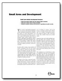 Small Arms and Development by