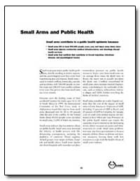 Small Arms and Public Health by