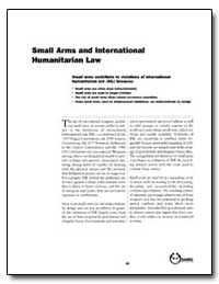 Small Arms and International Humanitaria... by