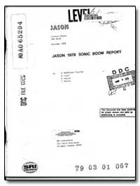Jason 1978 Sonic Boom Report by Macdonald, Scot