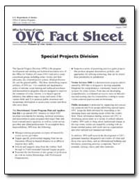 Special Projects Division by