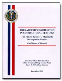 Therapeutic Communities in Correctional ... by Mccaffrey, Barry R.