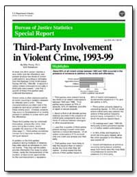 Third-Party Involvement in Violent Crime... by Planty, Mike