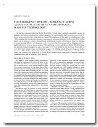 The Emergence of Low–Frequency Active Ac... by Tyler, Gordon D.