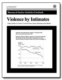 Violence by Intimates by Greenfeld, Lawrence A.