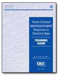 Victim-Oriented Multidisciplinary Respon... by Reno, Janet