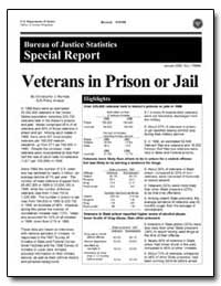 Veterans in Prison or Jail by Mumola, Christopher J.