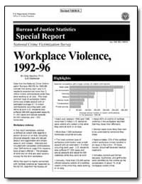Workplace Violence, 1992-96 by Warchol, Greg