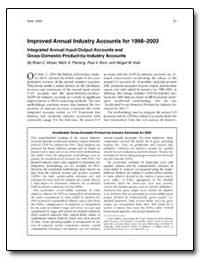 Improved Annual Industry Accounts for 19... by Moyer, Brian C.
