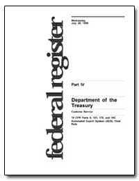 Department of the Treasury Customs Servi... by Skud, Timothy G.