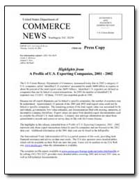 United States Department of Commerce New... by Barresse, Glenn A.
