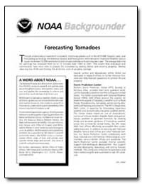 Forecasting Tornadoes by Department of Commerce